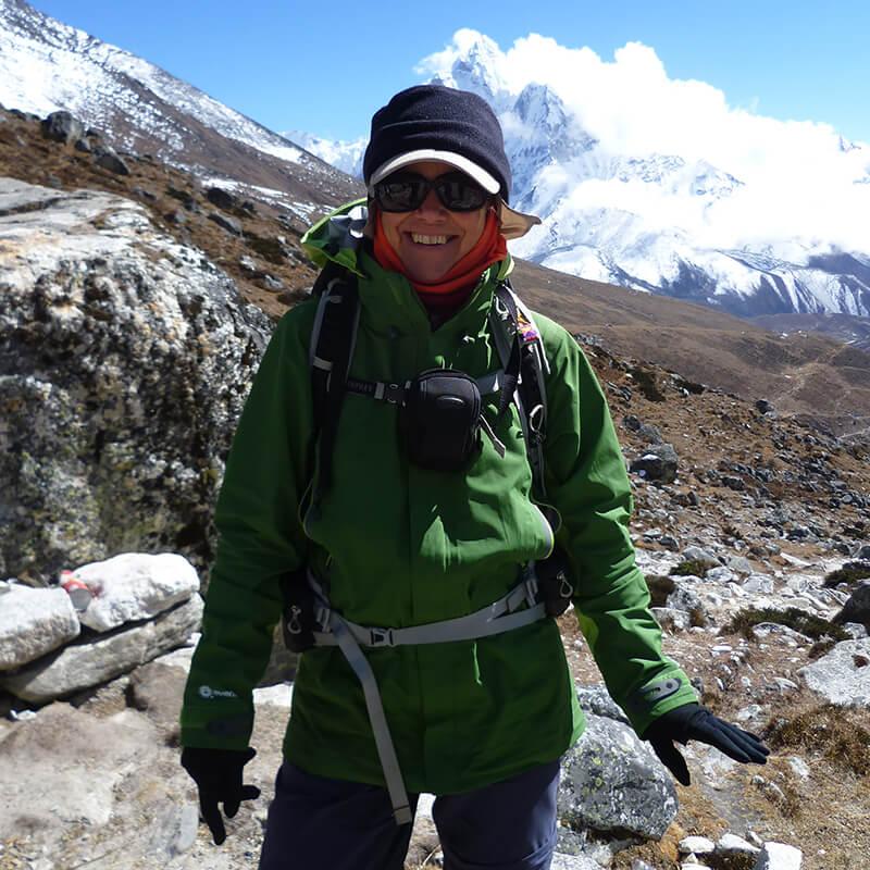 Marie on the Everest Trek | Nepal 2014