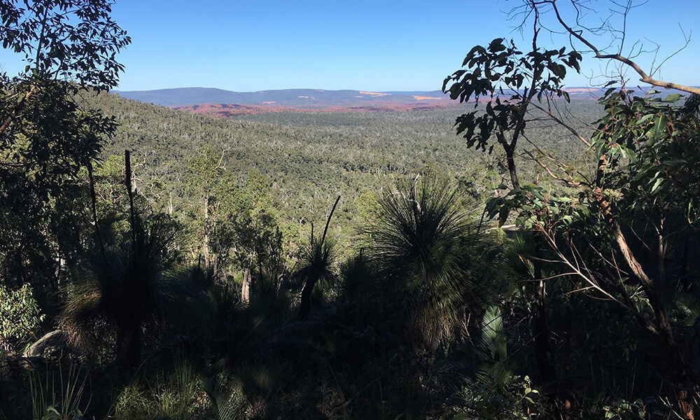 Views from the granite mountains of the Bibbulmun Track