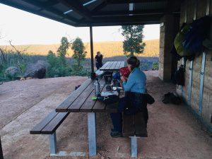 Helena Hut large group shelter Bibbulmun Track