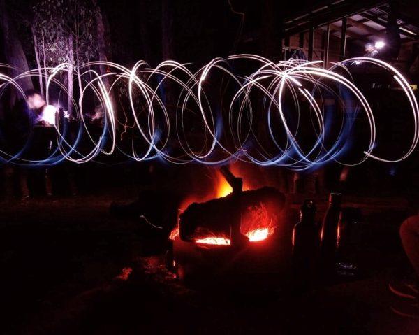 Lighting extravaganza on the Bibbulmun Track