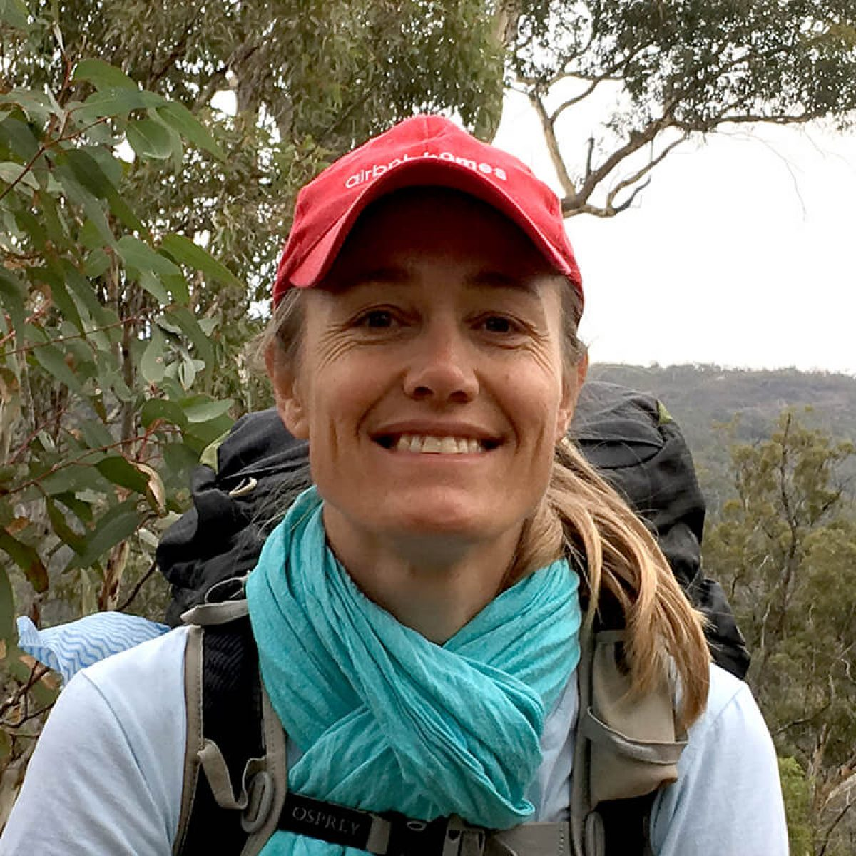 Nina Caputo, Marketing Manager, guide for family treks and youth treks