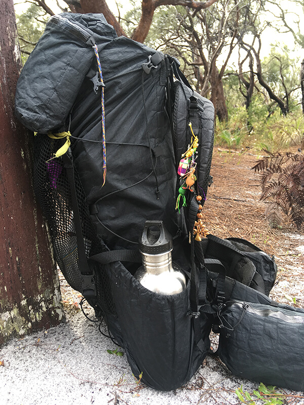 Ultralight backpack on a 7 day trek Northcliffe to Walpole