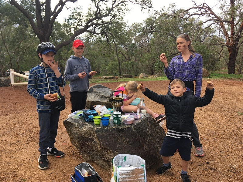 Families reconnect through nature at John Forrest National Park