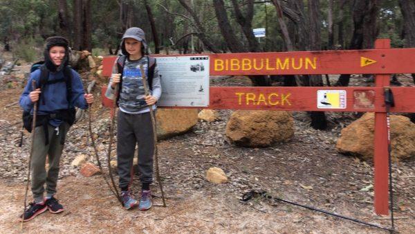 Family overnight trek on the Bibbulmun Track