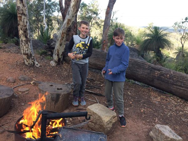 Family Bibbulmun Track overnight treks