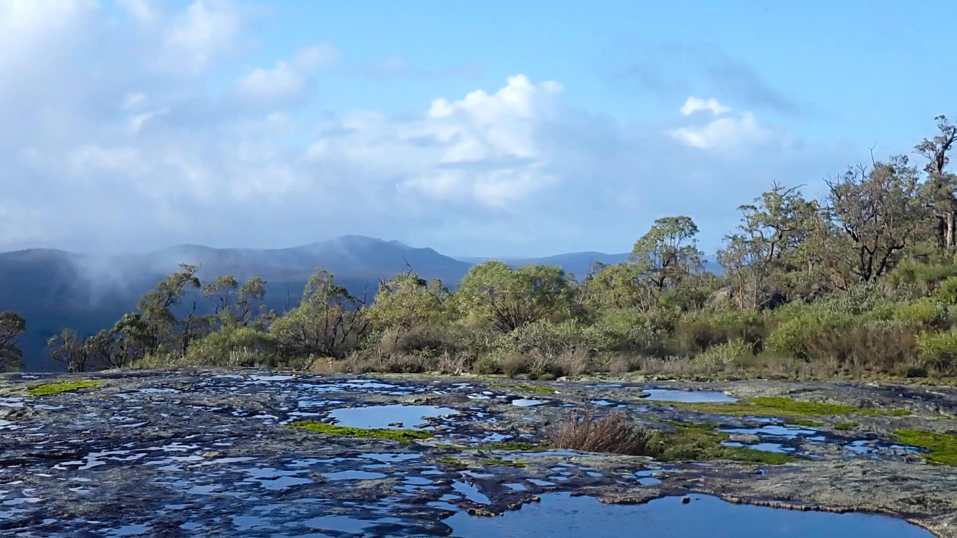 View from Mt Cooke Bibbulmun Track West Australia