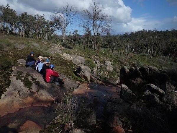 Hidden waterfalls of Manns Gully on the Bibbulmun Track