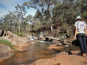 Rocky Pool Mundaring just off the Bibbulmun Track