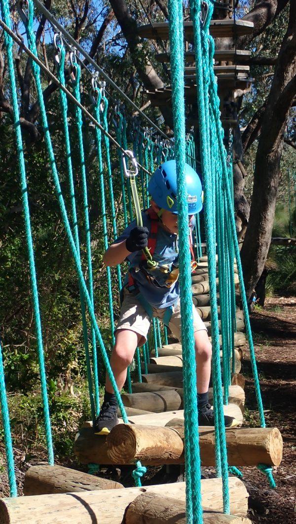 Treetop adventure Yanchep National Park