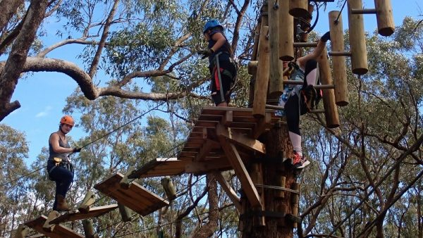 Treetop challenge with Simply Trekking guide Skyla