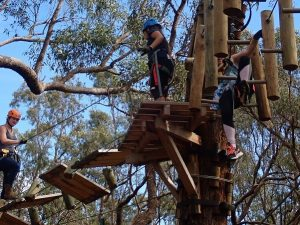 Treetop Adventure in Yanchep National Park with Simply Trekking Guides
