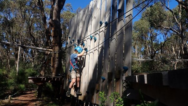 Yanchep National Park treetop adventure for all ages